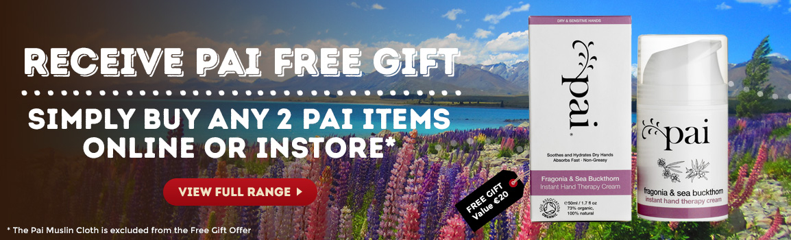 Buy 2 Pai Items & Free Gift