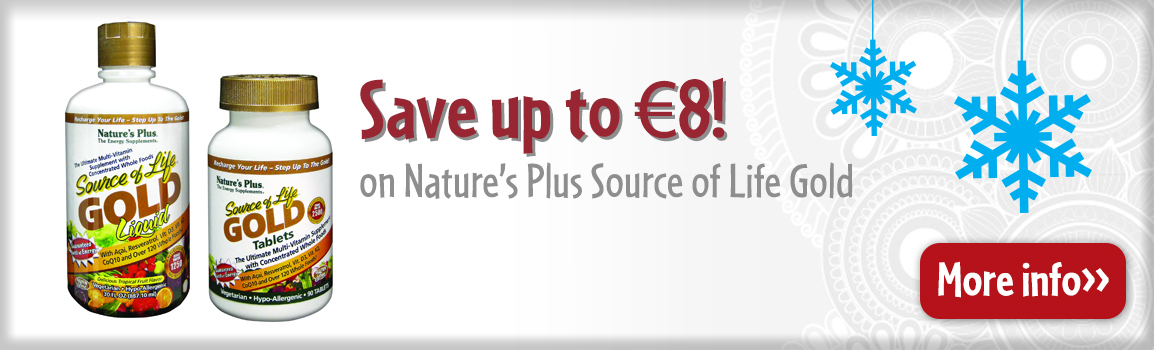 Save €8 on Nature's Plus Source of Life