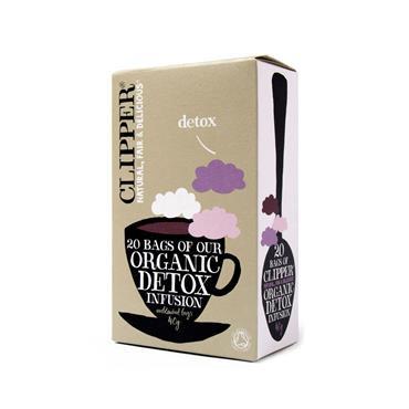 clipper organic detox tea 20 tea bags. Black Bedroom Furniture Sets. Home Design Ideas