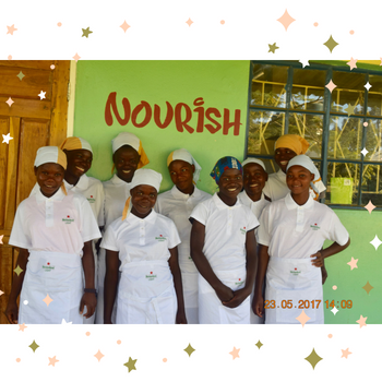 Our Nourish Kitchen in Zambia as part of the Zamda Children's Project